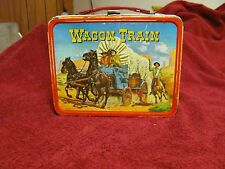1964 WAGON TRAIN LUNCH BOX BY KING SEELY **RARITY 7*** No Thermos