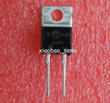 15pcs MUR860G MUR860 8A 600V 2 Pin Terminals Power Rectifier TO-220