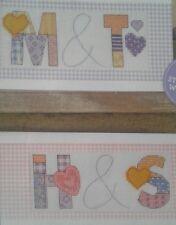 """""""Love Cuori Patchwork Alfabeto ABC"""" cross stitch chart da JENNY Barton (a6)"""