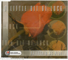 DJ LUCK AND MC NEAT - A LITTLE BIT OF LUCK (4 track CD single)
