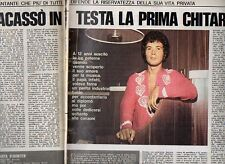 MA102-Clipping-Ritaglio 1974 Lucio Battisti