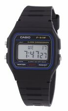 Original Casio F91W klassischen digitalen RETRO Sport Alarm Stoppuhr Black Watch