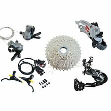 SHIMANO Alivio 3x9 Speed Hydraulic Brake Groupset Kit 5 piece