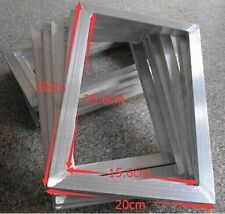 2pcs Silk Screen Printing Aluminum frame outside size 20x30cm