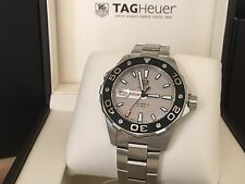 Brand New! 2016 - TAG Heuer Aquaracer 500M Calibre 5 Silver WAJ2111 Box Papers