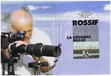 COUPURE DE PRESSE CLIPPING 1990 FREDERIC ROSSIF l'opéra sauvage 4 pages