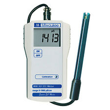 Milwaukee MW301 EC Conductivity Portable Meter/Tester/SM301, 0 –1990 µ ( MW301 )