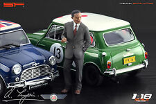 1/18 Alec Issigonis VERY RARE!!! figures for 1:18 Autoart CMC Mini Cooper
