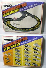 1979 TYCO TCR Slot less Car Total Command Control DETOUR TRACK SET Boxed #6437