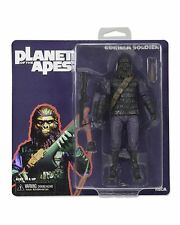 Classic Planet of the Apes Gorilla Soldier Retro Style Packaging NECA Figure 7""