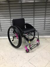 "TILITE TRA TITANIUM MANUAL CHAIR  (Seat: 17"" x 16"") - Manufacturer Demo Model"