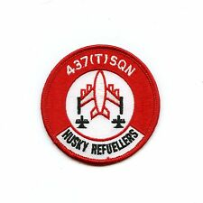 RCAF CAF Canadian 437 Husky Refuellers Squadron Colour Crest Patch