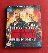 A Good Day To Die Hard - Harder Extended Cut - UK Blu-ray + Slip - Bruce Willis