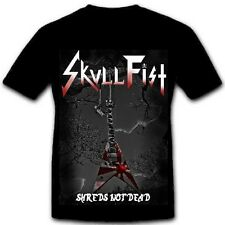 SKULL FIST - Shreds Guitar - T-Shirt - Größe Size XXL - Neu