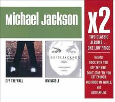 Off the Wall/Invincible by Michael Jackson (NEW)