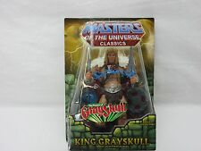 MOTU,MOTUC,KING GRAYSKULL,MASTERS OF UNIVERSE,CLASSICS,HE-MAN,Sealed,MOSC,Figure