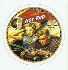 HOT ROD DRAG RACE  Sticker Decal