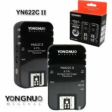 Yongnuo YN-622C II Wireless Flash Trigger TTL Set for Canon 5D 450D 650D 60D UK
