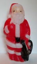 "Vtg Empire Santa Claus 14"" Blow Mold Needs Light Cord Tabletop Christmas Decor"