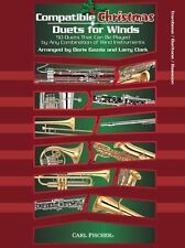 Compatible Christmas Duets For Winds Trombone Baritone Bassoon Play Music Book