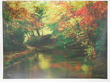 Afternoon Glow - Joann Rea - Landscape Giclée Art - Scenery - Water Trees Stream