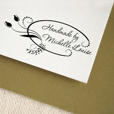 Personalized Custom Address Mounted Rubber Stamp RE10