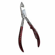 Prestige Professional cuticle nail art nippers clippers manicure Red PT203
