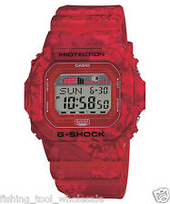 GLX-5600F-4D Red Lide Casio G-Shock Men's Watches Tide Graph Moon Resin Band