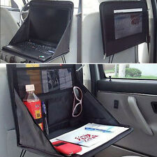 1x BLK Laptop Computer Stand Tray Desk Table Portable Folding Car Seat Back Bag