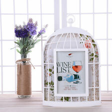 Creative Bird Cage Shaped 7inch Photo Frames Home Decor Picture Frames Xmas Gift