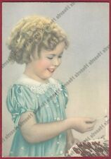 SHIRLEY TEMPLE 34 ATTRICE ACTRESS ACTRICE CINEMA MOVIE Cartolina NON FOTOGRAFICA