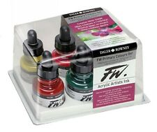 Daler Rowney FW Ink Primary Colours Set - 6 colours