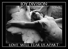 JOY DIVISION MUSIC POSTER (59x84cm) LOVE WILL TEAR US APART NEW LICENSED