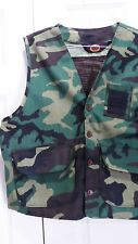 MENS BLUE BILL by RED HEAD SZ XL CAMO CAMOUFLAGE VEST. VERY LIGHTLY USED.