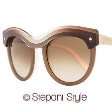 Salvatore Ferragamo Round Sunglasses SF774S 267 Beige Gradient/Pink 774