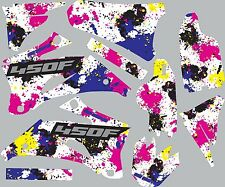 Graphic Kit for 2003-2005 Yamaha YZ450f YZ 450f shrouds fender plastic decals