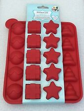 *BRAND NEW* KITCHEN CRAFT SILICONE - 20 CHRISTMAS CAKE POP MOULD