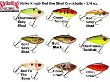 Strike King Red Eye Shad Crankbaits  1/4 oz. 7gr  5,7cm COL Albino Craw LIPLESS