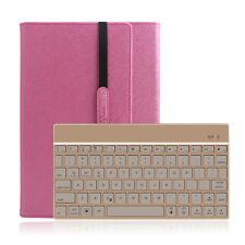 "NEW 7 Colors Backlit Bluetooth Keyboard Case For Samsung Galaxy Tab A 10.1"" T580"