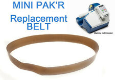 MINI PAKR Replacement Belt Kit Basic MINI PAK'R (2 Belts Included)