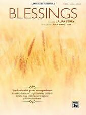 Original Sheet Music Edition: Blessings : Piano/Vocal/Guitar, Sheet by Laura...