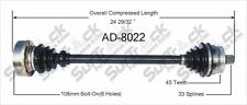 SurTrack AD8022 Right New CV Complete Assembly