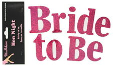Hen Party Iron-On Diamante Transfer: BRIDE TO BE - Perfect for your  Hen Night