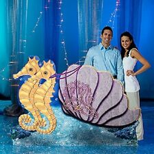 ATLANTIS CHARIOT STAND-IN * under the sea party decorations * mermaid * ocean