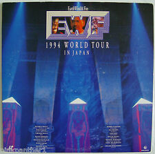 EARTH  WIND  &  FIRE  1994  WORLD TOUR  in  JAPAN  EWF Import Laserdisc  Edition