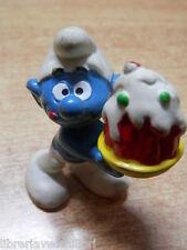 PUFFO pasticciere torta dolce 1978 Hong Kong di SMURF SCHLUMPF SCHTROUMPF PITUFO