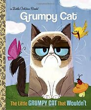 FREE EXPEDITED Little Golden Book: The Little Grumpy Cat That Wouldn't (Grumpy