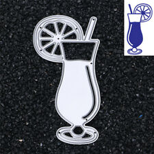 Drinking Cup Cutting Dies Stencil DIY Scrapbooking Album Card Embossing Craft