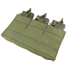 Condor VA6 OD GREEN M4/M16 Triple Mag Pouch Insert w/Hook Backing for MOPC