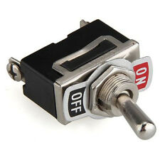 5Pcs 12V Heavy Duty Toggle Flick ON/OFF Switch Hotsale